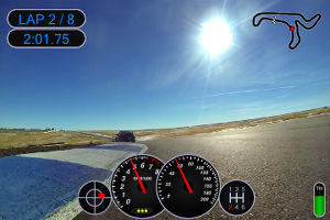 RaceRender 3 Video+Data by HP Tuners | Features